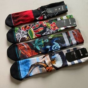 4) Stance Classic Nedium Cushion Socks
